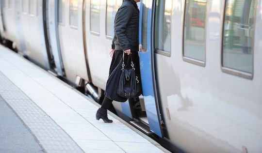 gap between tube train and platform