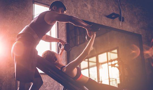 personal training session: how we work